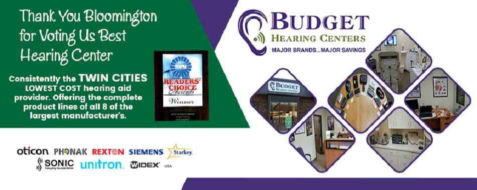 hearing aids and hearing evaluations in Bloomington, MN. Oticon, Phonak, Rexton, Siemens, Starkey, Sonic, Unitron, and Widex brands.